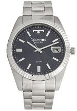Relógio Technos 2415CI1A Prata/Azul-Marinho