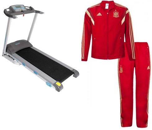 Artigos esportivos e fitness