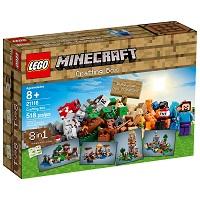 Lego Minecraft Caixa Criativa em promoção com frete grátis