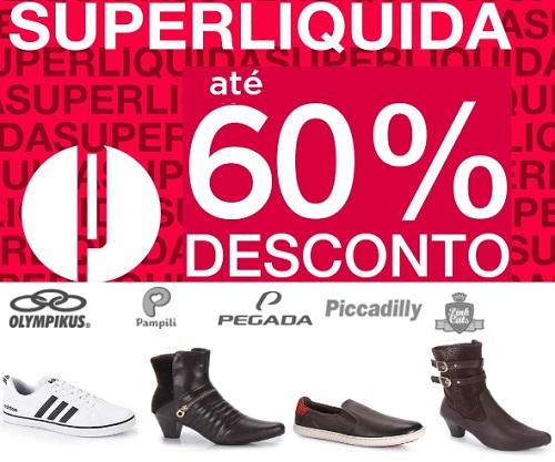 Super liquidação de marcas famosas de moda Dakota, Democrata, Kidy, Pegada, Vizzano, Bottero, Brandili e muitas outras!