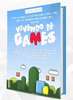 E-book Vivendo de Games