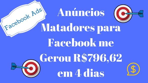 AMF Anúncios Matadores para Facebook para ganhar dinheiro na internet