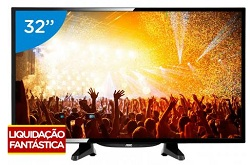 TV LED 32 pol AOC LE32H146120 - Conversor Digital 2 HDMI 1 USB
