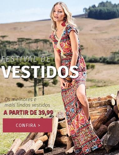 Promoção de Vestidos Quintess diversos modelos e estilos