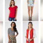 Promoção Moda feminina Mercatto Posthaus - Blusas Corppeds Shorts Vestidos e outras peças