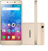 Smartphone Lenovo Vibe K5 Dual Chip Android Tela 5 16GB 4G Câmera 13MP Dourado