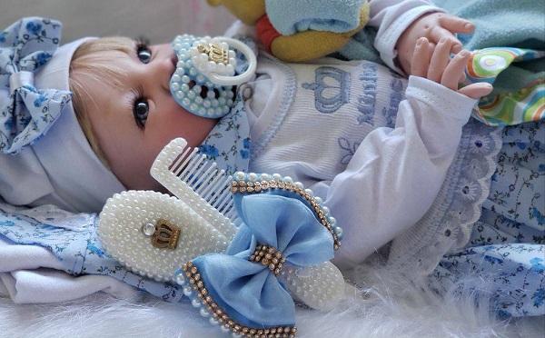 Bebê Reborn Real Brinquedo idêntica ao um bebe de verdade
